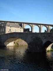 Vieux pont -  Dinan, Vieux pont, France