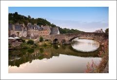 Vieux pont -  Le vieux pont sur la Rance, Dinan