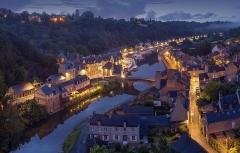 Vieux pont - English: Dinan, France