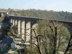 Vieux pont - Esperanto: La viadukto de Dinan el 1852, nun nomata
