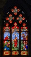 Eglise Saint-Jean - Français:   Baptême du Christ.  Pas de signature.