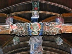 Eglise Saint-Envel - Brezhoneg: Lokenvel. Iliz. Treustelloù. Englouledoù