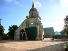 Eglise Saint-Jacques -  View of the church at Perros-Guirec in Brittany.