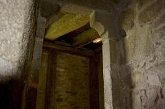 Château de la Roche-Jagu et ses dépendances - Un des paliers de l'escalier