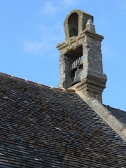Chapelle Saint-Gonéry et cimetière -  Glocke - Chapelle(1500) Saint-Gonéry - Enclos Paroissal - Umfriedeter Pfarrbezirk - Plougrescant - Côtes-d\'Armor - Côte de Granit Rose - Bretagne