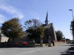 Chapelle Saint-Gonéry et cimetière - Brezhoneg: Plougouskant. Sant Goniri. Aer Enep