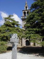Eglise Saint-Dogmaël, calvaire et clôture du cimetière - Brezhoneg: Ploulec'h. Iliz 21