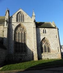 Eglise Sainte-Catherine - Chevet de l'église Sainte-Catherine de La Roche-Derrien (22).