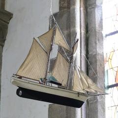Eglise, dite église du Port ou église Saint-Thomas - Français:   L\'église Saint-Thomas-Becket à Bénodet (Finistère, Bretagne, France).