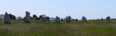 Alignements mégalithiques du Toulinguet - English: Menhir in Camaret-sur-mer, France