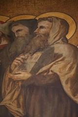 Ancienne abbaye de Saint-Guénolé - Français:   Saint Guénolé. Procession des saints de Bretagne. Diocèse de Cornouaille. Déambulatoire de la métropole Saint-Pierre de Rennes (35).
