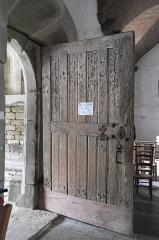 Eglise Saint-Edern - Deutsch: Katholische Kirche Saint-Edern in Lannédern im Département Finistère (Region Bretagne/Frankreich), Kirchentür