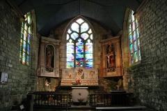 Chapelle Notre-Dame-de-Bonne-Nouvelle - Français:   Intérieur de la chapelle Notre Dame de Bonne Nouvelle, Locronan, Finistère
