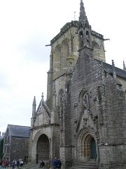 Place de l'Eglise - Deutsch:   Église Saint-Ronan in Locronan, Finistére, Bretagne