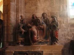 Place de l'Eglise - Español:   Locronan (Bretaña-Francia)