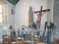 Eglise Sainte-Geneviève -  Diverses statues inutilisées.