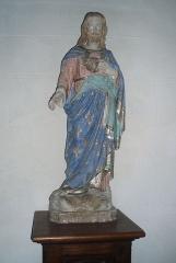 Eglise Sainte-Geneviève -  Statue de Jésus.