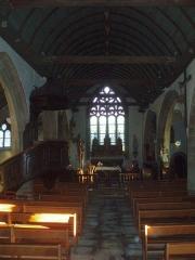 Eglise Sainte-Geneviève -  Vue de la nef et du transept.