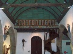 Eglise Sainte-Geneviève -  Fonds de la nef.