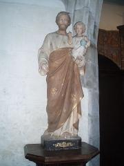 Eglise Sainte-Geneviève -  Statue de saint Joseph.