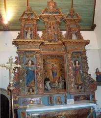Eglise Sainte-Geneviève -  Retable monumental.