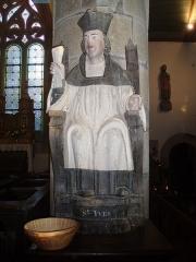 Eglise Sainte-Geneviève -  Statue de saint Yves.