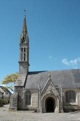 Eglise Saint-Demet - Deutsch: Kirche Saint-Demet in Plozévet im Département Finistère (Region Bretagne/Frankreich)
