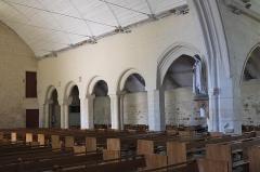 Eglise Saint-Demet - Deutsch: Kirche Saint-Demet in Plozévet im Département Finistère (Region Bretagne/Frankreich), Innenraum