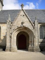 Eglise Saint-Demet - Brezhoneg: Porched iliz Plozeved, Bro Gerne, Breizh.