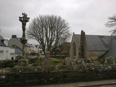 Eglise Saint-Demet -  Finistere Plozevet Eglise Calvaire Menhirs