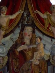 Chapelle Notre-Dame de Kergoat - Français:   Chapelle Notre-Dame de Kergoat en Quéménéven (29). Itron Varia Kergoat.