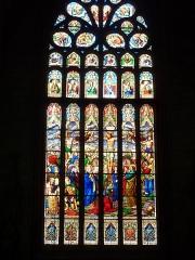 Eglise Notre-Dame-de-l'Assomption ou de Saint-Michel - Français:   Quimperlé Eglise Notre-Dame de l\'Assomption Vitrail du XIXème siècle