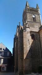 Eglise Notre-Dame-de-l'Assomption ou de Saint-Michel -  Chapelle et transept nord de l'église Notre-Dame de Quimperlé (29).