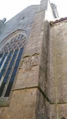 Eglise Notre-Dame-de-l'Assomption ou de Saint-Michel -  Transept nord de l'église Notre-Dame de Quimperlé (29).