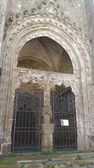 Eglise Notre-Dame-de-l'Assomption ou de Saint-Michel -  Porche nord de l'église Notre-Dame de Quimperlé (29).