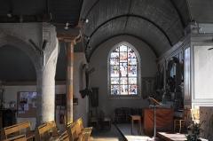 Eglise Saint-Nicaise et cimetière - Deutsch: Katholische Kirche Saint-Nicaise in Saint-Nic im Département Finistère (Region Bretagne/Frankreich), Innenraum