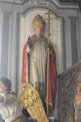Eglise Saint-Nicaise et cimetière - Deutsch: Katholische Kirche Saint-Nicaise in Saint-Nic im Département Finistère (Region Bretagne/Frankreich), heiliger Nicasius