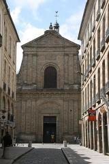 Basilique Saint-Sauveur - Français:   Facade de l\'église Saint-Sauveur de Rennes, vue depuis la rue du Guesclin.