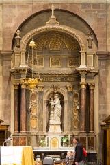 Basilique Saint-Sauveur - Français:   Retable de Jean Denmat (1737).