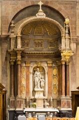 Basilique Saint-Sauveur - Français:   Retable de Jean Denmat (1739).