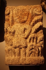 Basilique Saint-Sauveur - Français:   Granit, 12e siècle, Musée de Bretagne