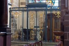 Basilique Saint-Sauveur - Réalisée vers 1780-1782 par Jean Guibert.