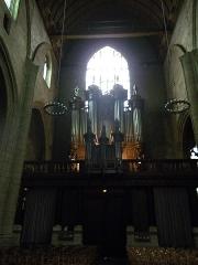 Eglise Saint-Germain -  les orgues de l'eglise st germain a rennes