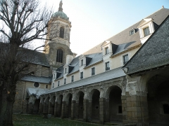 Hospice Saint-Mélaine - Français:   Cloître de l'ancienne abbaye Saint-Melaine à Rennes.