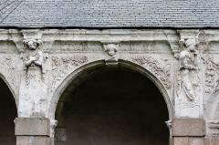 Hospice Saint-Mélaine - Français:   Seconde arcade de la galerie ouest du cloître de l\'ancienne abbaye saint Melaine de Rennes.