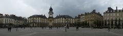 Hôtel de ville -  la place de la mairie a rennes