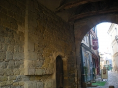 Porte Mordelaise - English: The Portes Mordelaises in Rennes, viewed from inside.