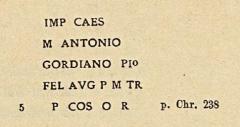 Porte Mordelaise - English: Image from the book  Inscriptiones trium Galliarum et Germaniarum latinae, Pars 1, ediderunt O. Hirschfeld (Corpus Inscriptionum Latinarum, 13, 1, 1) .