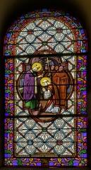 Eglise Saint-Briac - Français:   saint-Briac reçoit l\'habit monastique