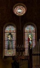 Eglise Saint-Briac - Français:   Transept nord, sainte-Jeanne-de-Chantal et saint-Maurice